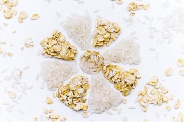 オートミールと白米の栄養素の違い